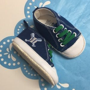 Baby Gear baseball shoes baby walkers blue 3-6 m